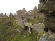 Student at Dunluce Castle 2010